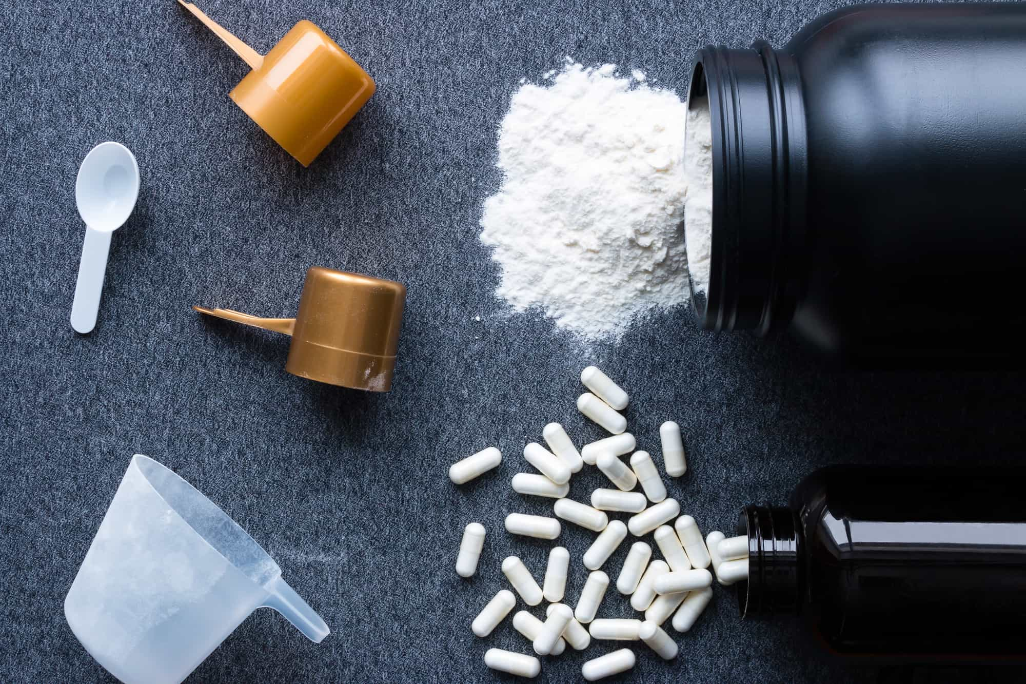 Kreatin på pulverform og i kapsler